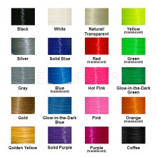 3D Printer Filament 1kg/2.2lb 1.75mm 3.0mm PLA / ABS MakerBot RepRap