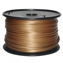 3D Printer Filament 1kg/2.2lb 3mm  PLA Gold