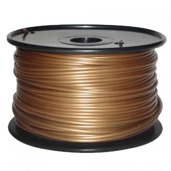 3D Printer Filament 1kg/2.2lb 3mm  PLA Gold