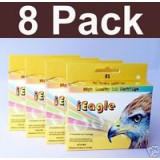 LC61 8 Ink For Brother 290C 490C 5490 5890 6490 6890C