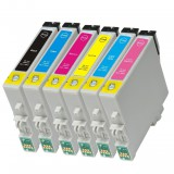T098 6 Pack Ink Cartridges for Artisan 600,Artisan 700, Artisan 710, Artisan 800 , Artisan 810