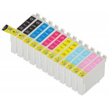 T098/099 12 Pack Remanufactured Epson 98/ 99 ink Cartridges