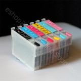 Refillable cartridges T098 98 For Artisan 600 700 710 725 730 737 800 810 835 837