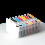 T087 #87 Set of Refillable ink cartridges For Epson stylus photo R1900