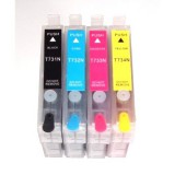 T127120-BCS T127 127 refillable ink cartridges for Epson workforce 635 645 840 845 60 AIO all in one printers