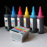 Refillable cartridges & Extra set ink 78 For Artisan 50 refill kit