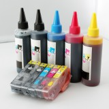 T273 Refillable ink cartridgesand an Extra set of high quality refill ink bottles