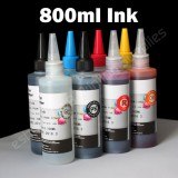 T087 1 Set Non-OEM CISS CIS Refill ink bulk ink 87 T087 For Epson stylus photo R1900
