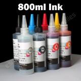 T087 1 Set Non-OEM CISS CIS Refill ink bulk ink 87 T087 For Epson stylus photo R1900