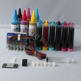 CISS CIS & extra Set Ink 48 For Epson Stylus Photo R300