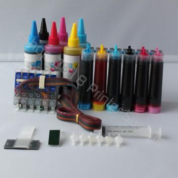 CISS CIS & extra Set Ink 48 For Epson Stylus Photo R300