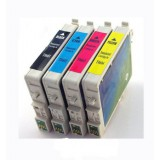 T069 Compatible Ink Cartridges for Epson T069 (Black, Cyan, Magenta, Yellow, 4-Pack)