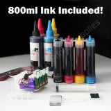CIS & extra set ink 127 126 For Epson workforce