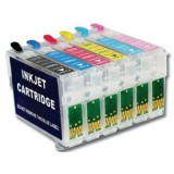 Refillable cartridges #79 -6 INKS for Epson Stylus Photo 1400 1410 printer