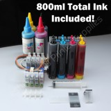 T060 CISS CIS & Extra Set Ink #60 For Epson C88 800ml  ink