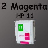2 magenta ink C4837 11 For HP Printer 1100 1200d HP11