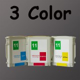 HP11 3 color ink Cartridge 11 For HP Printer 1100 1200d