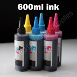 HP02 Compatible CISS Refill Ink Bottles