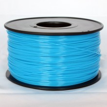 3D Printer Filament 1kg/2.2lb 3mm  PLA   Glow in Dark Blue