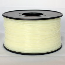3D Printer Filament 1kg/2.2lb 3mm  PLA  Glow in Dark Green