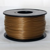 3D Printer Filament 1kg/2.2lb 1.75mm  PLA    Gold