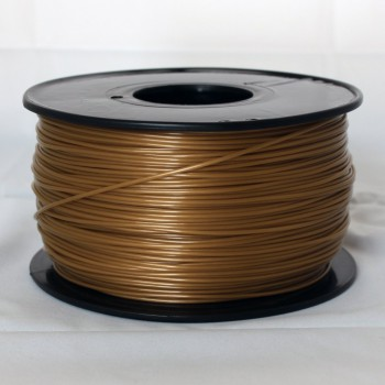 3D Printer Filament 1kg/2.2lb 1.75mm  PLA Glod