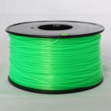 3D Printer Filament 1kg/2.2lb 1.75mm   PLA  Green (Translucent)