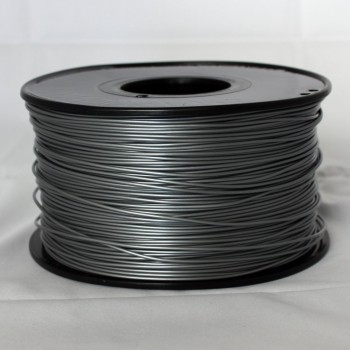 3D Printer Filament 1kg/2.2lb 3mm  PLA  Silver