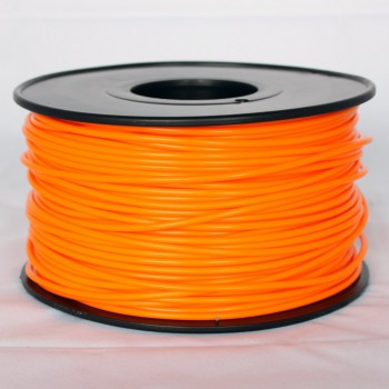 3D Printer Filament 1kg/2.2lb 3mm  PLA  Orange