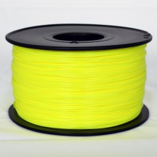 3D Printer Filament 1kg/2.2lb 1.75mm  PLA  Solid Yellow