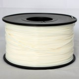 3D Printer Filament 1kg/2.2lb 1.75mm  PLA  White