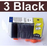 PGI-5 3 Black ink W/chip Canon IP 4300 5200 MP 830 600
