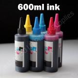 Compatible CISS Refill Ink Bottles for Canon CLI-8, CLI-221, CLI-226