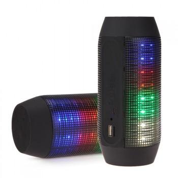 Portable Wireless Bluetooth4.0 PULSE LED Light Stereo Speaker For Phone Tablet