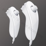 2 New Nunchuck Controller For Nintendo Wii